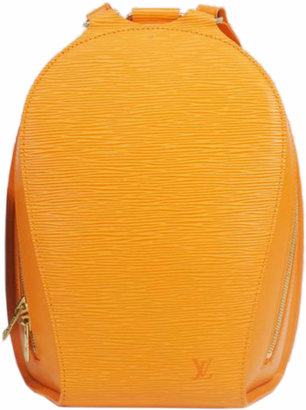 Louis Vuitton Orange Epi Mabillon