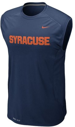 Nike syracuse orange speed fly dri-fit sleeveless tee