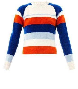 J.W.Anderson Raglan stripe sweater