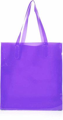 Topshop Perspex Shopper Bag