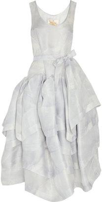 Vivienne Westwood Fiona tiered printed silk-organza dress