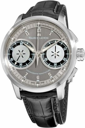 Maurice Lacroix Men's MP7128-SS001320 MasterPiece Grey and Dial Watch
