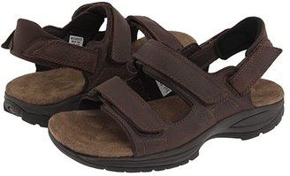 Dunham St. Johnsbury (Brown Leather) Men's Sandals