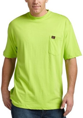 Wrangler RIGGS WORKWEAR by Men's Pocket T-Shirt, Safety Green, X-Large