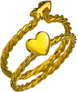 Erica Anenberg Cupid Stackable Rings