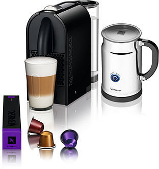 Nespresso CLEARANCE Black C50/D50 U Bundle Espresso Maker