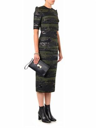 Josh Goot Slice jacquard pencil dress