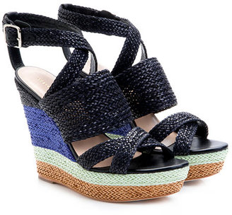 Loeffler Randall Lake platform wedge