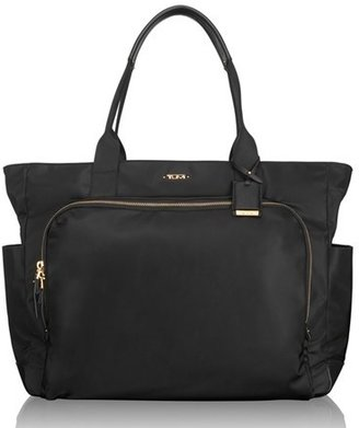 Tumi 'Mansion' Shoulder Tote/baby Bag - Black $395 thestylecure.com