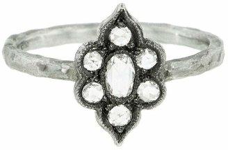 Cathy Waterman Parisian Window - Designer Platinum Ring