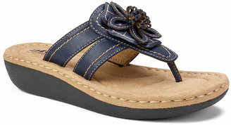 White Mountain Cliffs by Carnation Wedge Sandal - Women's
