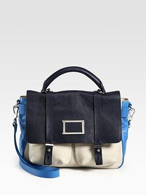 Marc by Marc Jacobs Werdie Colorblocked Top-Handle Messenger Bag