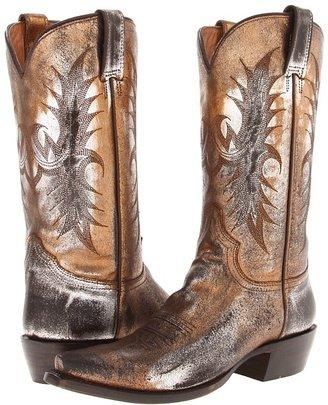 Stetson Acteone Metallic Boot (Tan/Silver/Gold) - Footwear