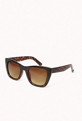 Forever 21 F8371 Matte Cat-Eye Sunglasses