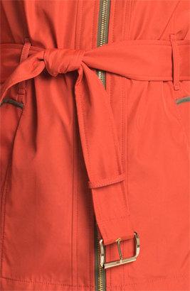 MICHAEL Michael Kors Zip Front Softshell Jacket Medium P