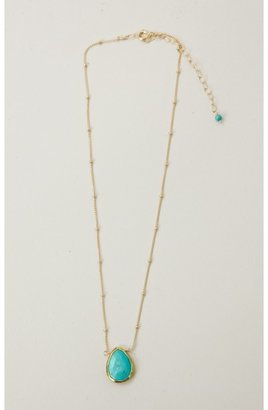Natalie B Stone Drop Necklace