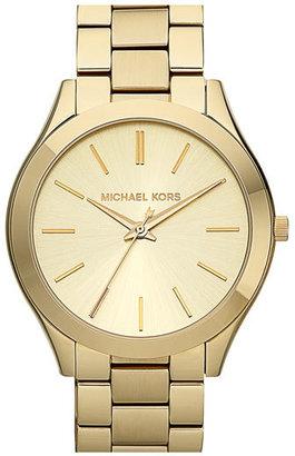 Women's Michael Kors 'Slim Runway' Bracelet Watch, 42Mm $195 thestylecure.com
