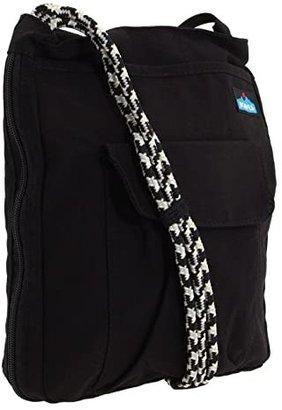 Kavu Sidewinder (Black) Cross Body Handbags