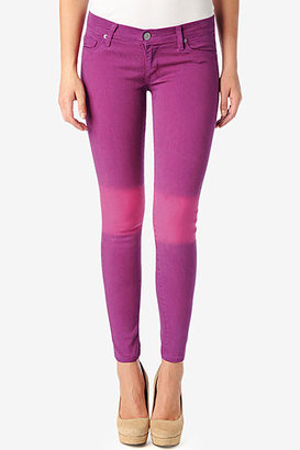 Hudson Jeans Krista Super Skinny- Pomegranate/ Amethyst Ombre