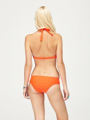 Roxy Surf Essentials 70s Halter D Cup Bikini Top