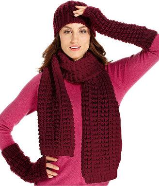 Nine West Scarf, Textured Knit Scarf
