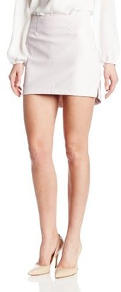 BCBGeneration Women's Asymmetric Mini Skirt