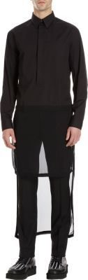 Givenchy Cut-Out Pocket Trouser