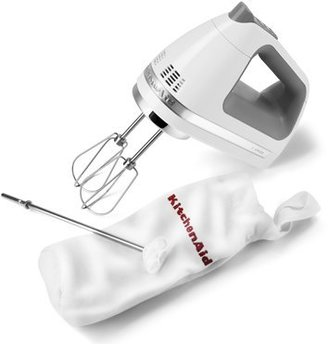 KitchenAid White 9-Speed Hand Mixer