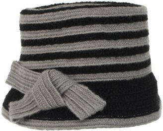 Collection XIIX Women's Knotted Striped Cloche Hat
