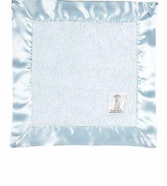 Little Giraffe Chenille Security Blanket - Blue