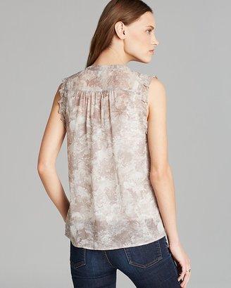 Joie Top - Fayanna Brushy Floral Silk