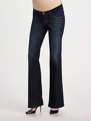 J Brand Maternity Bootcut Jeans