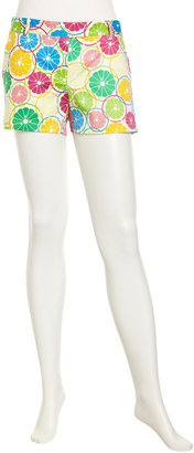 Julie Brown JB by Citrus-Print Shorts, Multi