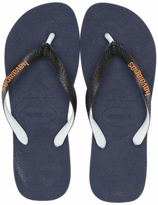 Havaianas Men's Top Mix Flip Flop Sandal Navy Blue/Black 13 M US