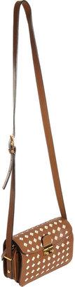 Marni Diamond-Cutout Small Crossbody Bag
