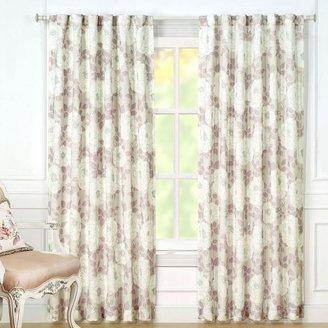 Laura Ashley Nina Sheer Window Panel Pair - 40'' x 84''