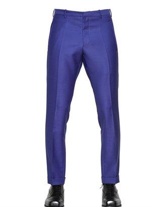 Jil Sander Mohair & Wool Blend Formal Trousers