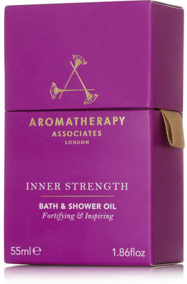 Aromatherapy Associates Inner Strength Bath & Shower Oil, 55ml - Colorless