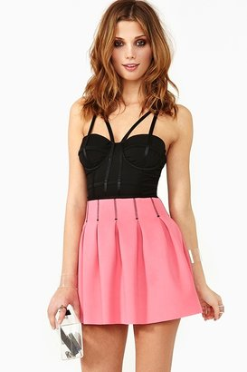 Nasty Gal Like Candy Scuba Skirt