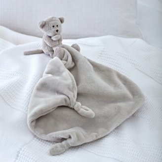 The White Company Monkey Comforter, Brown, One Size