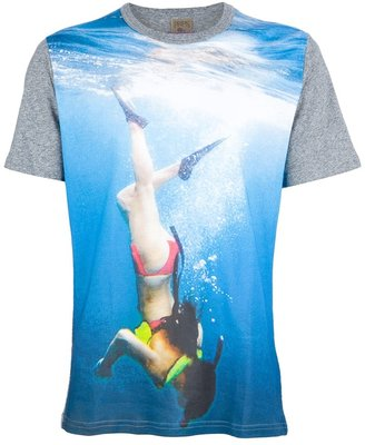 PRPS diver print t-shirt