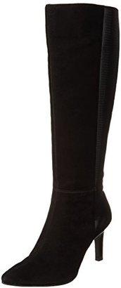 Bandolino Women's Ferver Suede Dress Boot $159 thestylecure.com