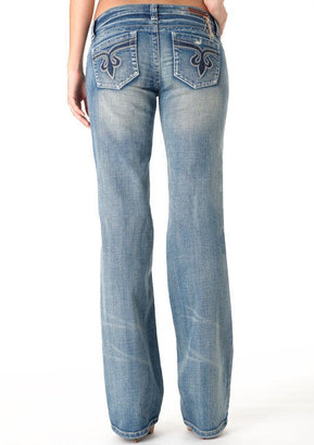 Alloy S&P by Standards & Practices Boyfriend Stretch Wide-Leg Jean