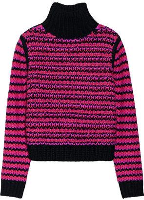 Proenza Schouler Chunky-knit cashmere turtleneck sweater
