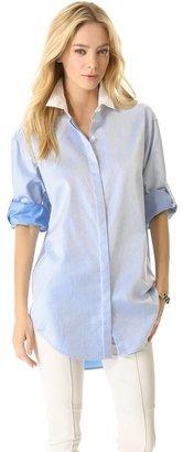 DKNY Long Sleeve Button Down
