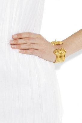 Sophia Kokosalaki Gold-plated silver cuff