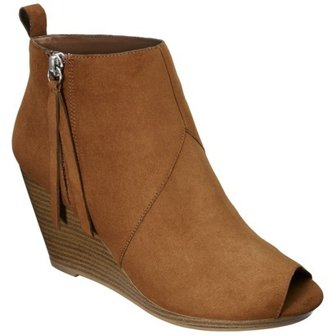 Mossimo Women's Kailey Open Toe Bootie - Assorted Colors