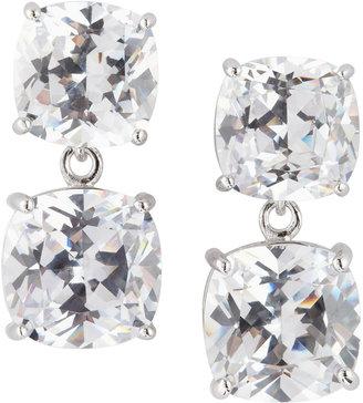 Kenneth Jay Lane CZ by Cubic Zirconia Double-Drop Earrings