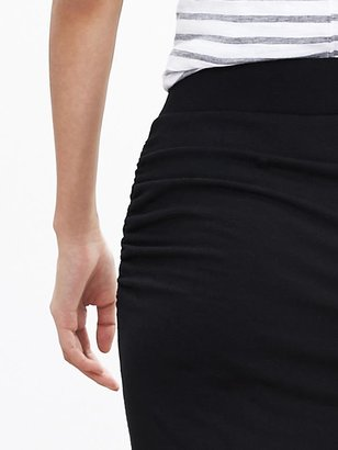 Banana Republic Ruched Jersey Skirt