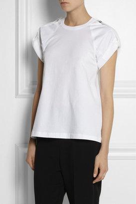 Chloé Cotton-jersey and poplin top